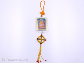 DDD79 Yanka Tibétain Bouddha Népal Tibet