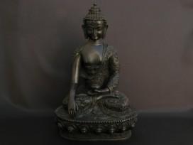 St64 Statue Bouddha Dragon