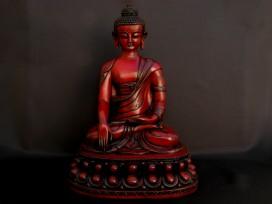 St65 Statue Bouddha Signes Auspicieux du Bouddhisme