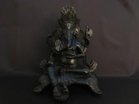 St69 Statue Ganesh Signes Auspicieux du Bouddhisme
