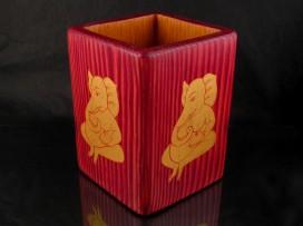 PCr09 Pot à Crayons Ganesh Dieu Hindou