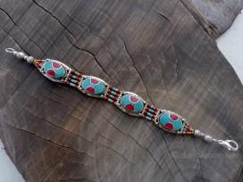 BRD235 Bracelet Tibétain 18 cm