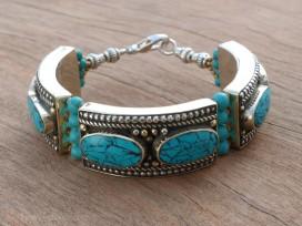 BRD335 Bracelet Tibétain 18 cm