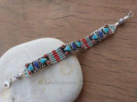 BRD336 Bracelet Tibétain 19 cm