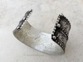 BRD345 Bracelet Tibétain Filigranes