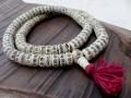 Mala104 Mala de Prières Os de Buffle Tibet