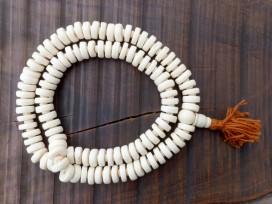 Mala105 Mala de Prières Os de Buffle Tibet