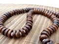 Mala111 Mala de Prières Os de Buffle Tibet
