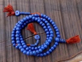 Mala116 Mala de Prières Os de Buffle Tibet