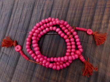 Mala118 Mala de Prières Os de Buffle Tibet