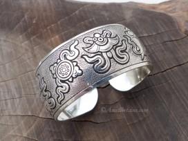 BRD363 Bracelet Tibétain Signes Auspicieux du Bouddhisme