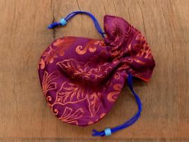 PochTib74 Petite Pochette Tibétaine pour Mala