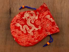 PochTib80 Petite Pochette Tibétaine pour Mala