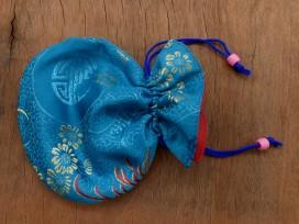 PochTib95 Petite Pochette Tibétaine pour Mala