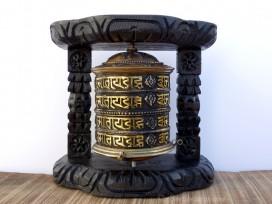 RP116 Roue à Prières Tibétaine Mantra