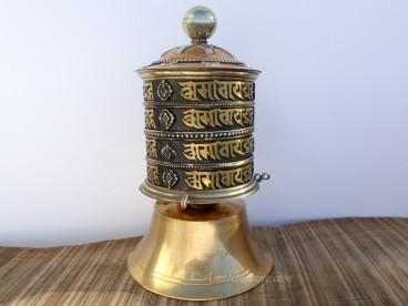 RP118 Roue à Prières Tibétaine Mantra