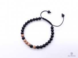 BrMala282 Bracelet Bois Onyx