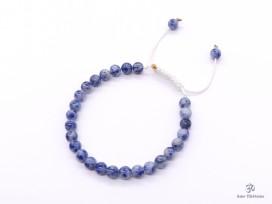 BrMala286 Bracelet Mala Sodalite. 21 cm