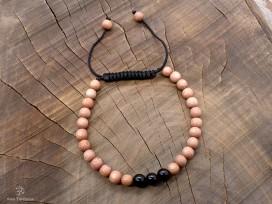BrMala274 Bracelet Bois Onyx