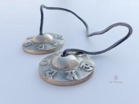 Cymbale4 Cymbale ou Tingsha Tibétaine Mantra