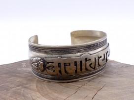 BRD392 Bracelet Tibétain Mantra Om Mani Padme Hum