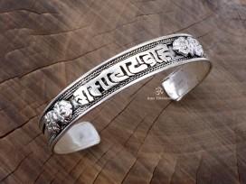 BRD394 Bracelet Tibétain Mantra Om Mani Padme Hum