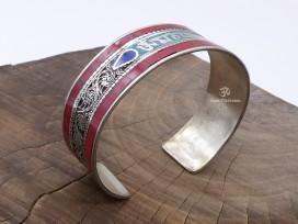 BRD396 Bracelet Tibétain Mantra Om Mani Padme Hum