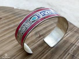 BRD223 Bracelet Tibétain Mantra Om Mani Padme Hum
