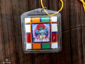 DDD91 Yanka Tibétain Porte-Bonheur Bouddha Népal Tibet