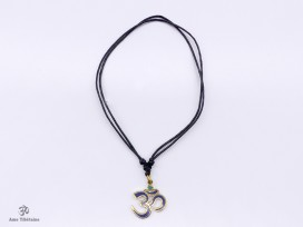 CD140 Collier Tibétain Om