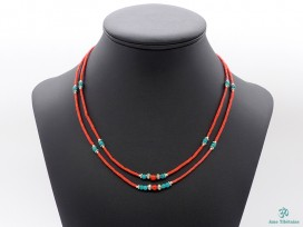 CD105 Collier Tibétain 49 cm