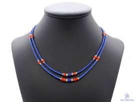CD106 Collier Tibétain 48 cm