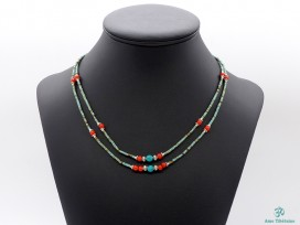 CD119 Collier Tibétain 50 cm