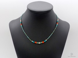 CD145 Collier Tibétain
