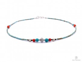 CD147 Collier Tibétain