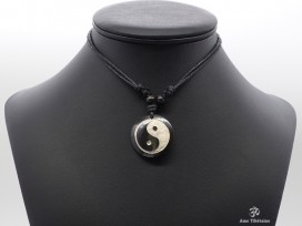 CD157 Collier Tibétain Yin Yang