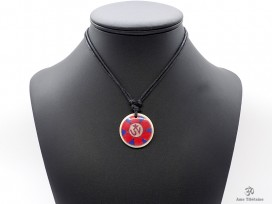 CD166 Collier Tibétain Om