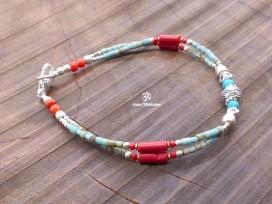 BRD333 Bracelet Tibétain 20 cm