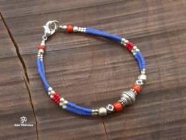 BRD403 Bracelet Tibétain 18 cm