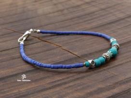 BRD313 Bracelet Tibétain 19 cm
