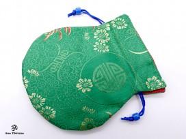 PochTib72 Petite Pochette Tibétaine pour Mala