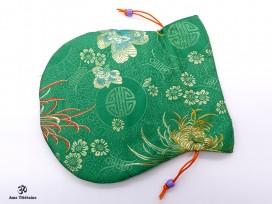 PochTib103 Petite Pochette Tibétaine pour Mala