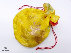 PochTib105 Pochette Tibétaine pour Mala