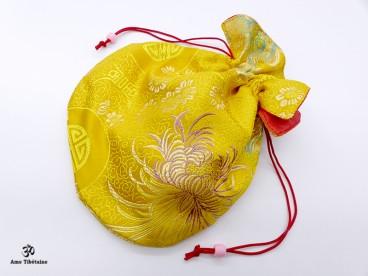PochTib105 Petite Pochette Tibétaine pour Mala