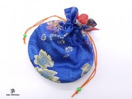PochTib118 Pochette Tibétaine pour Mala