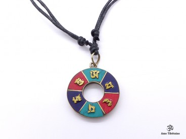 CD179 Collier Tibétain Mantra