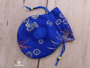 PochTib67 Petite Pochette Tibétaine pour Mala