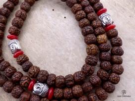 Mala86 Mala de Prières Rudraksha