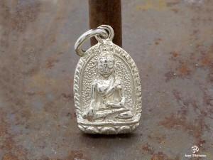 PA26 Pendentif Argent Massif Bouddha