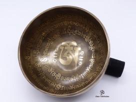 BC35 Bol Chantant Mantra Yeux de Bouddha